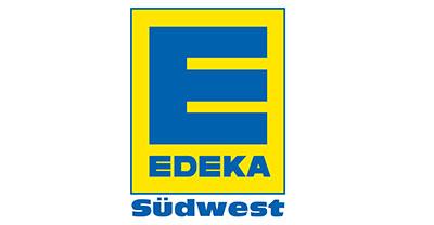 Edeka Logo Weihnachtsfeier Karlsruhe
