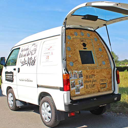Foto-Marketing-Fotobus-FunkyBus-Interaktion-Promotiontour-Festival